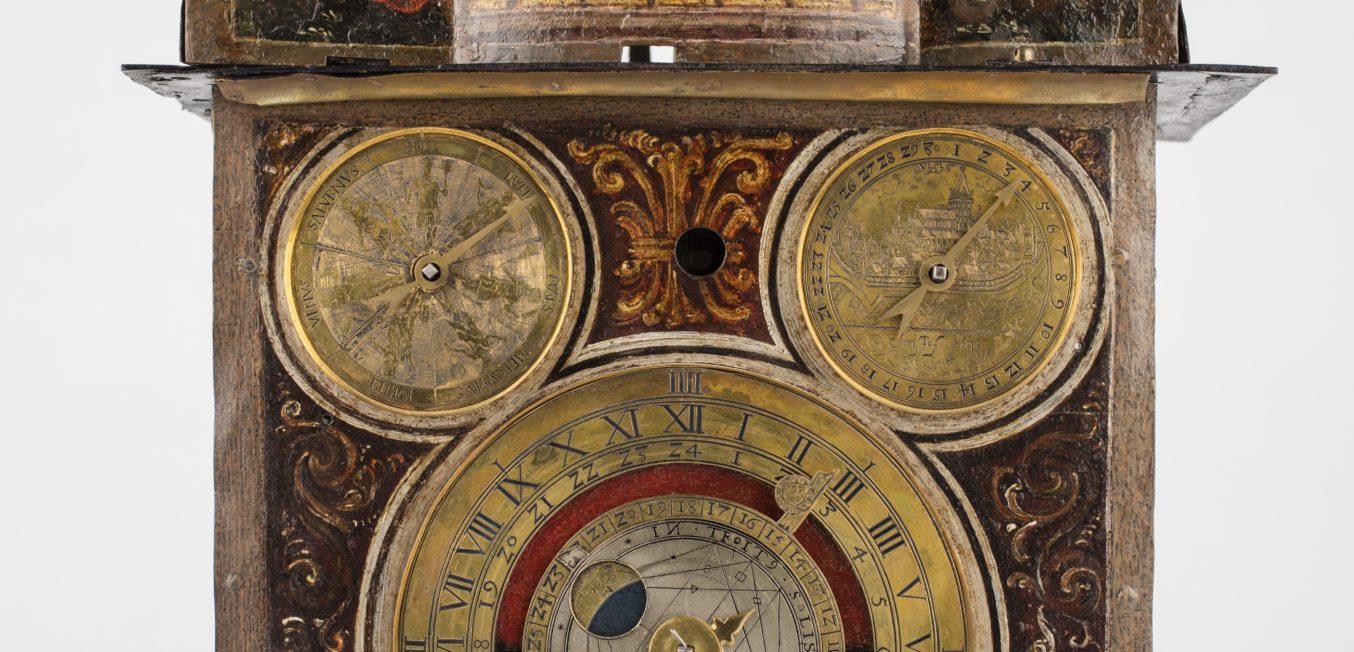 Astronomische Tischuhr